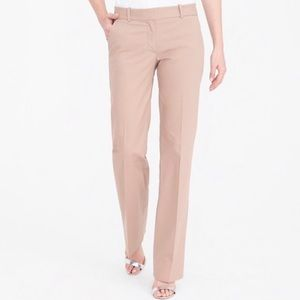 Camel Straight Leg Dress Pants